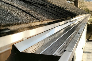 Newly Installed Gutter